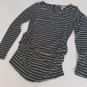 A Pea in the Pod black&white stripe blouse sz S